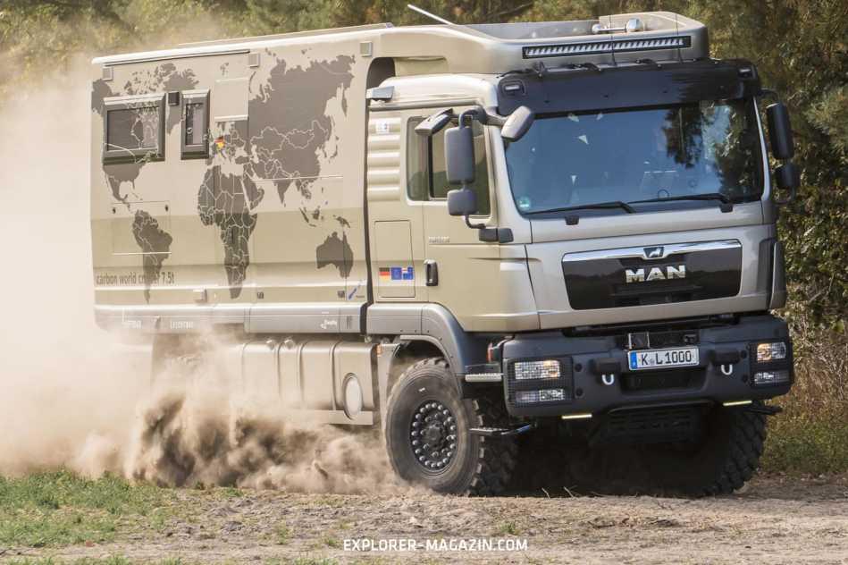 MAN TGM 13.290 Leichtbau Expeditionsmobil