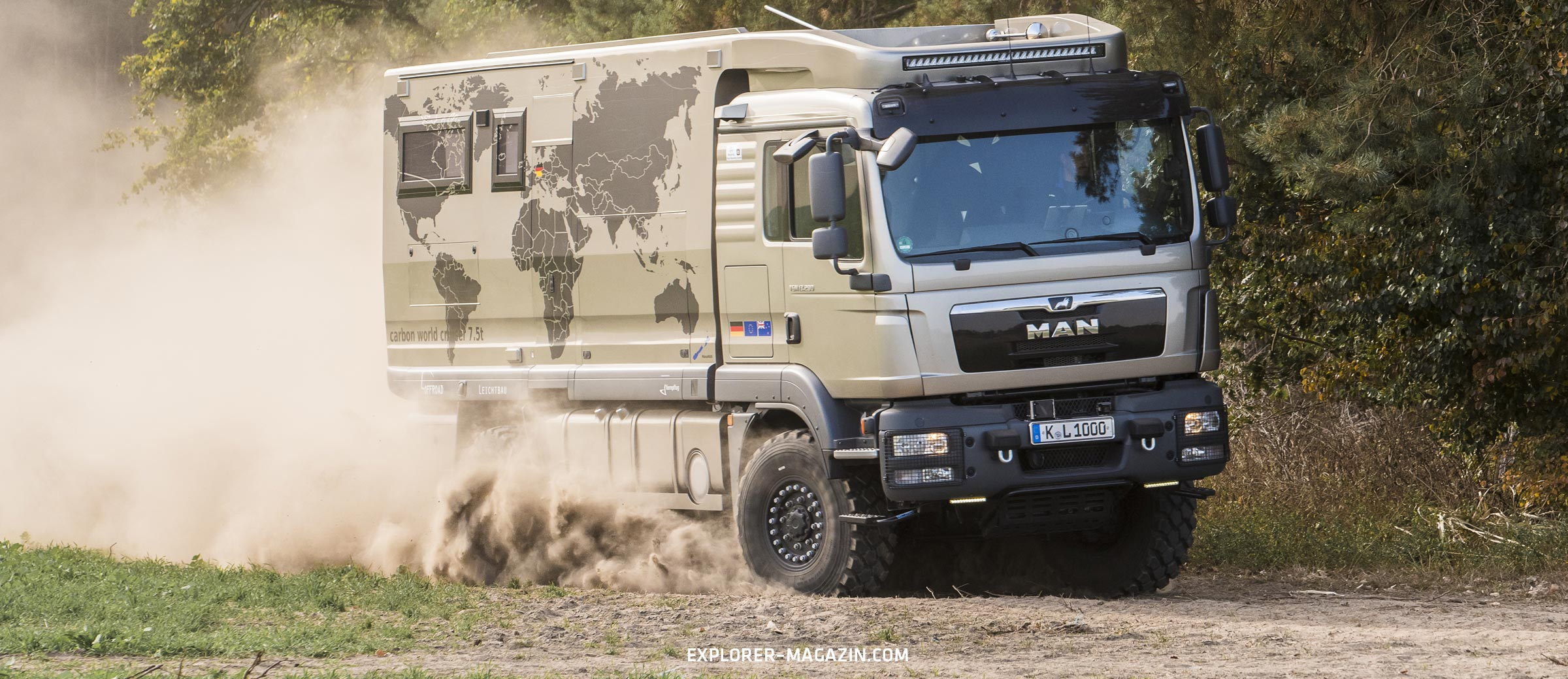 MAN TGM 13.290 Leichtbau Expeditionsmobil