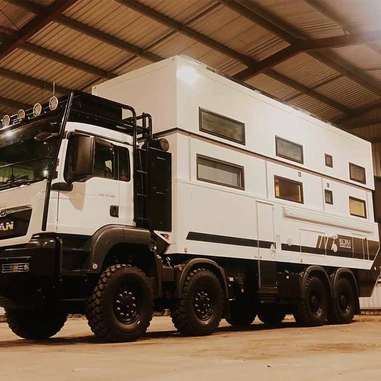 MAN TGS 41.480 8x8 Expeditionsmobil SLRV Commander