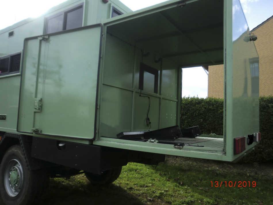 Quad Garage Expeditions Lkw gebraucht zu verkaufen