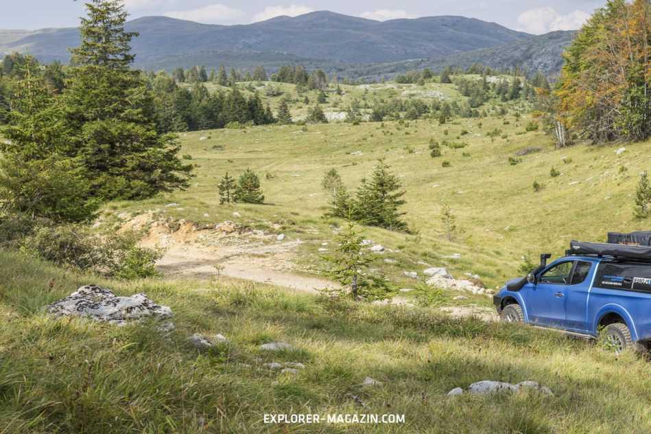 Montenegro Camping Reise