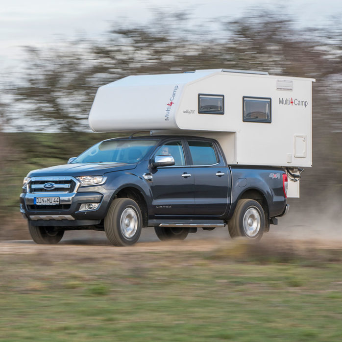 Pickup Camper Willy 2.0