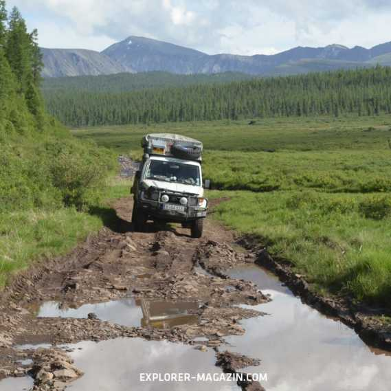 EXPLORER Reise Reportage Tuwa Russland