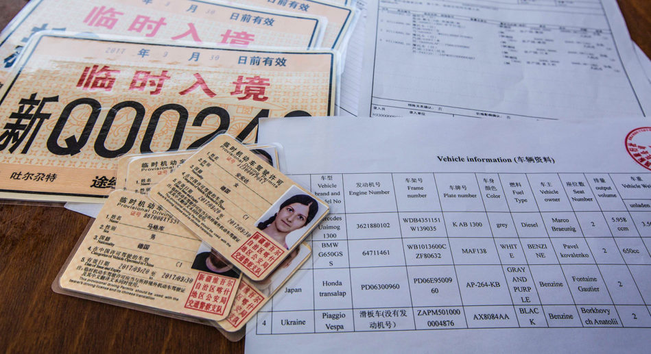 Einreise China
