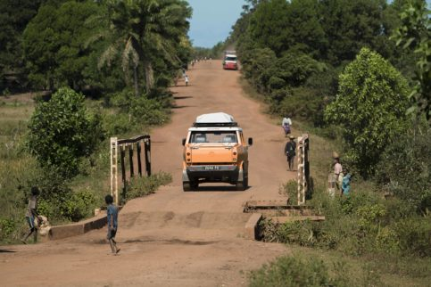Madagaskar Reise Road