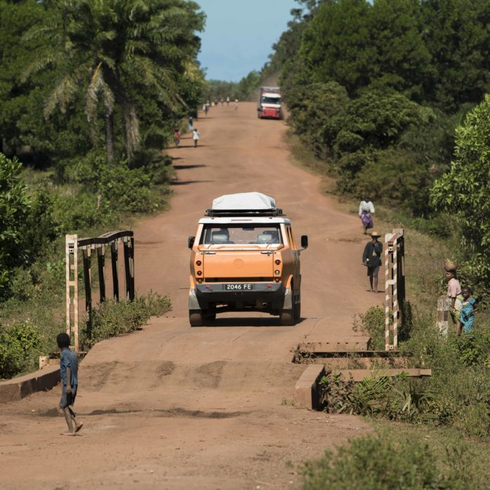 Madagaskar Reise Road