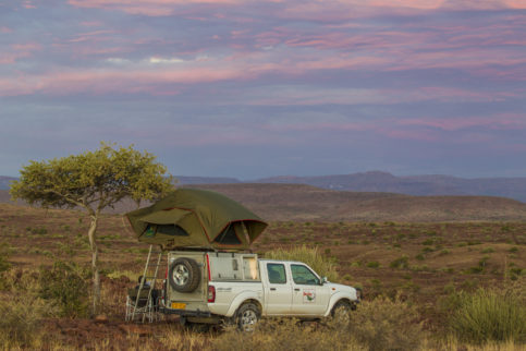 Howling Moon-Dachzelte werden in Südafrika produziert