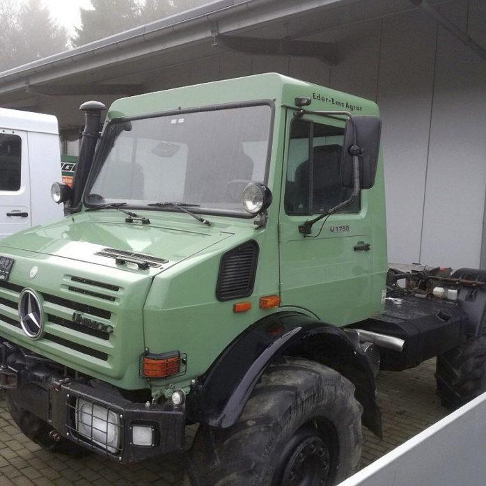 Unimog U1750 Expedition Fahrgestell gebraucht zu verkaufen