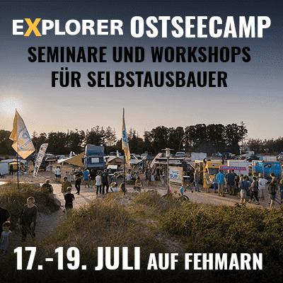 EXPLORER Ostsee-Camp Banner 2020