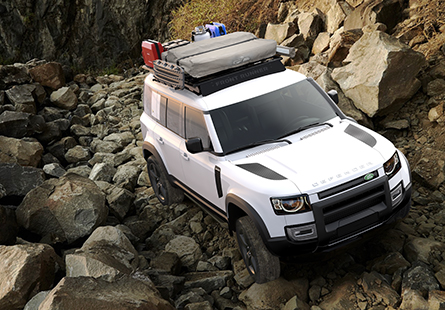 Dachträger neuer Land Rover Defender - Foto: Front Runner Outfitters