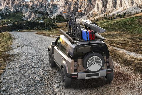 Dachträger für Land Rover Defender von Front Runner