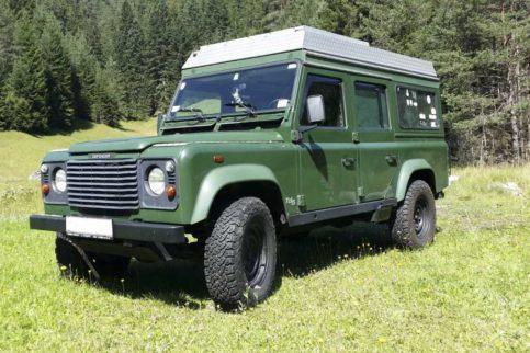 Land Rover Defender TD5 110 SW, Spezial Mobils Expeditionsfahrzeug gebraucht zu verkaufen