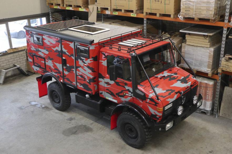 Mercedes Unimog U 1300 L Expeditionsmobil gebraucht zu verkaufen