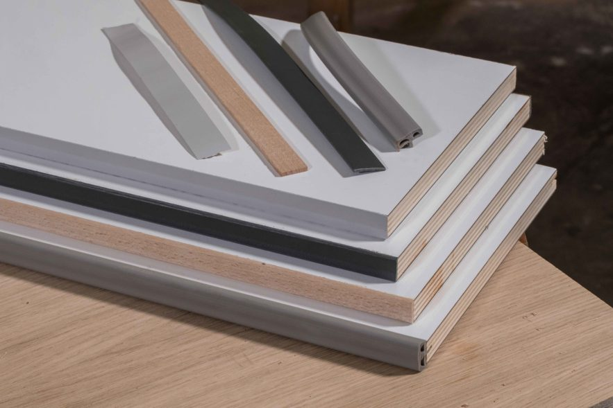Umleimer und Kanten schützen Möbel vor Beschädigungen