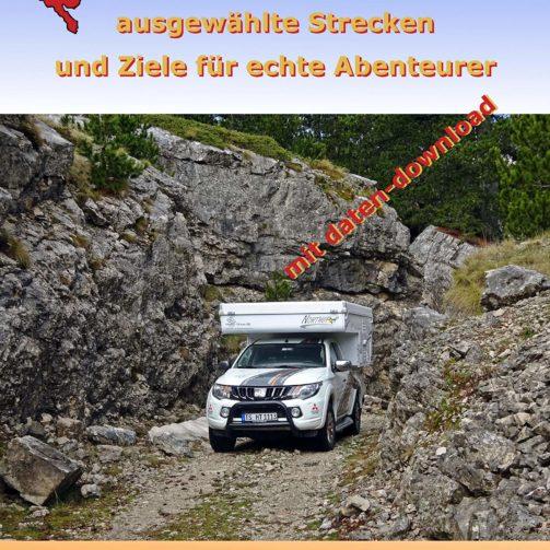 Montenegro Offroad Guide 4x4 Buch