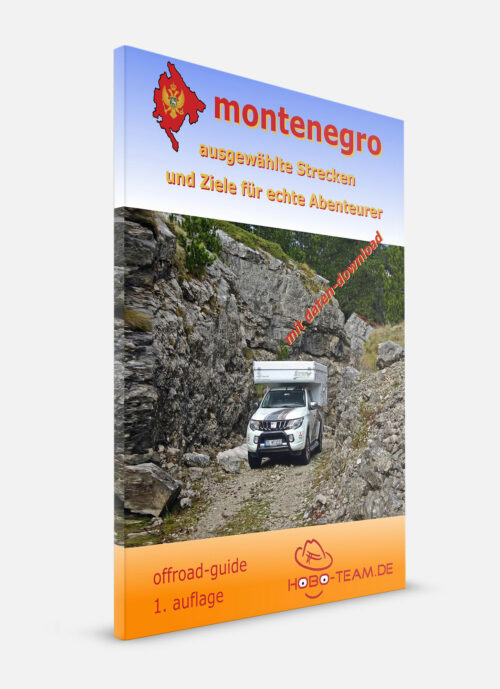 Montenegro Offroad Guide Buch