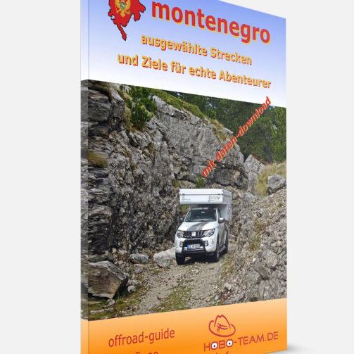 Montenegro Offroad Guide Buch