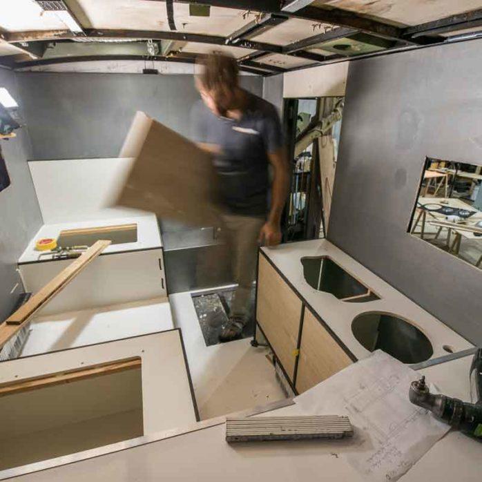 Reisemobil Möbelbau Einbau