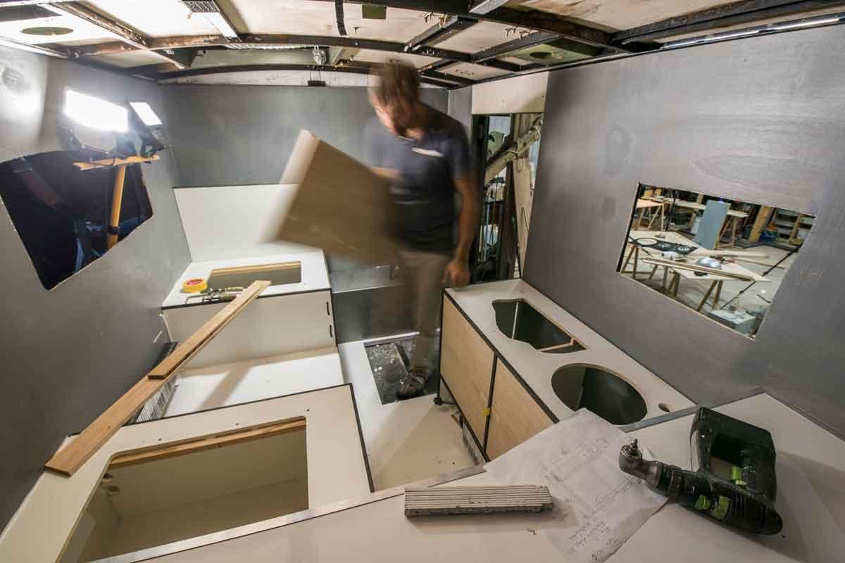 Reise- & Wohnmobile: Tipps vom Tischler – Möbel einfach selber bauen