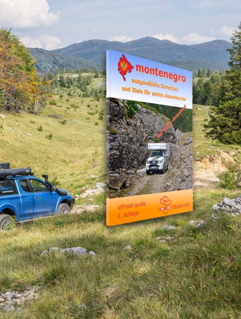 Montenegro Offroad Strecken Buch