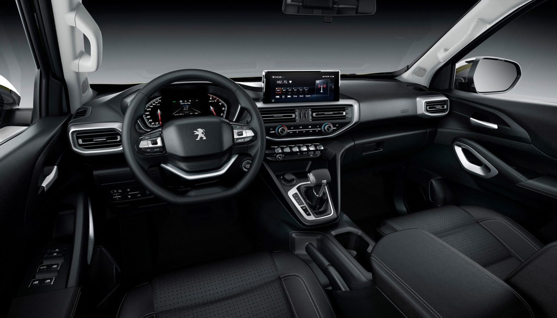 Für den Innenraum des Landtrek bediente man sich aus dem aktuellen Peugeot-Regal