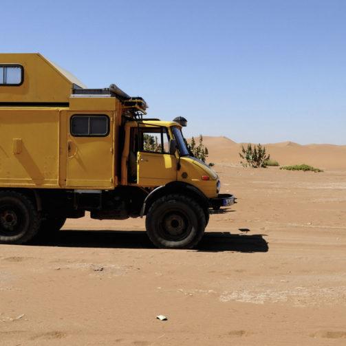 Unimog 416 als Wohnmobil inkl. Expeditionsausrüstung gebraucht zu verkaufen