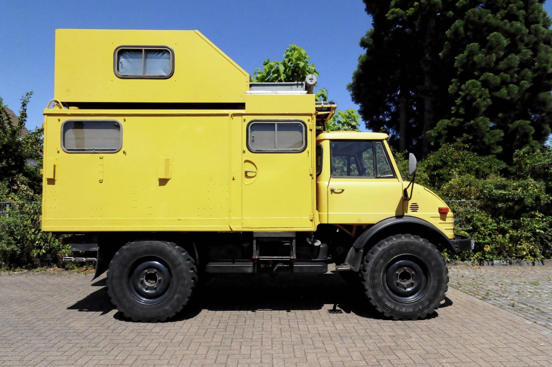 ZU VERKAUFEN: Unimog 9 als Wohnmobil inkl. Expeditionsausrüstung