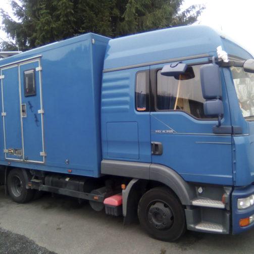 Wohnmobil MAN TGL 8.210 gebraucht zu verkaufen