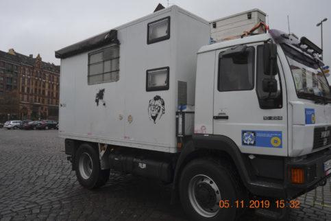 MAN L2000 Weltreisewohnmobil gebraucht zu verkaufen