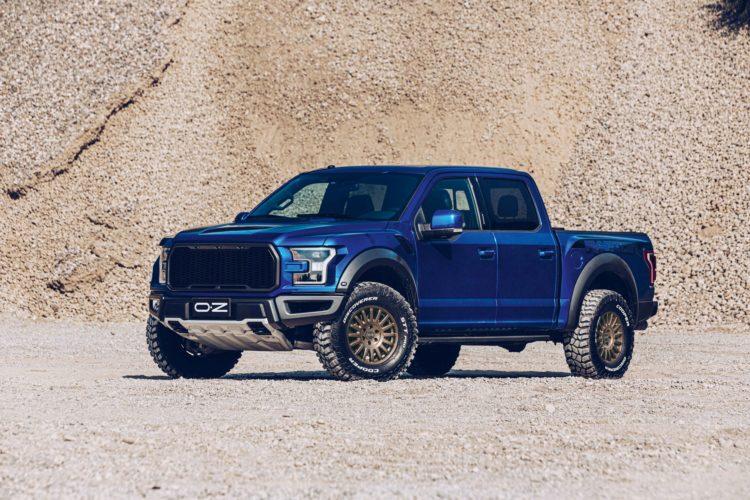 Der Ford Ranger macht auf den OZ-Felgen eine gute Figur