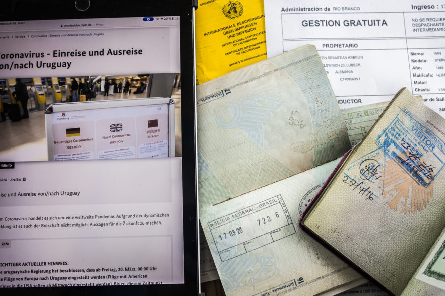 Einreisepapiere
