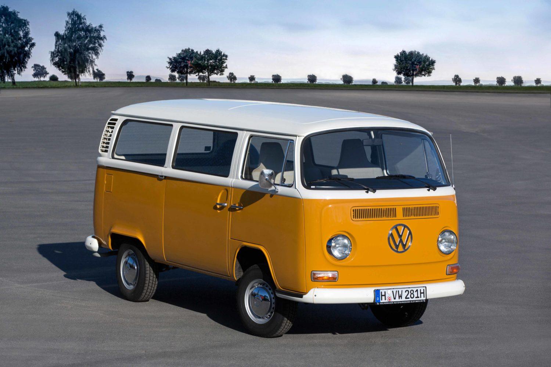 Wurde in Deutschland bis 1979 gebaut. In Brasilien verließen erst 2013 die letzten T2 das Werk.