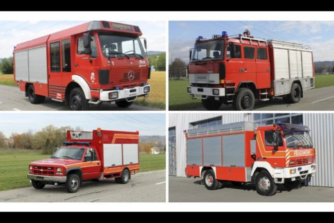 Feuerwehrfahrzeuge als Basis für Fernreisemobile gebraucht zu verkaufen