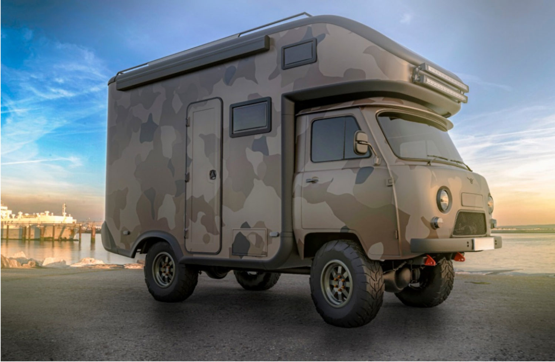 Go West! Offroad-Camper aus Russland für den deutschen Markt