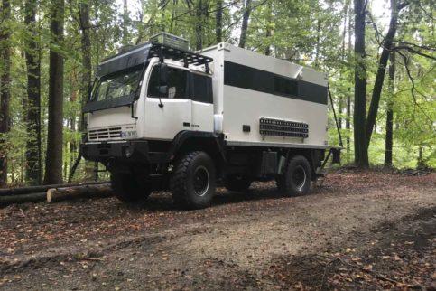 Steyr 12M18 Allrad Wohnmobil gebraucht zu verkaufen