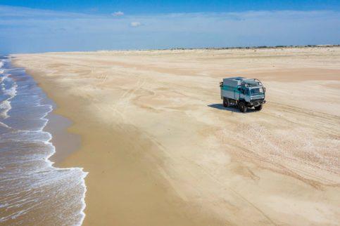 Fahrten am Strand entlang sind ein Riesenspaß – so lange man die Fahrtechnik beherrscht