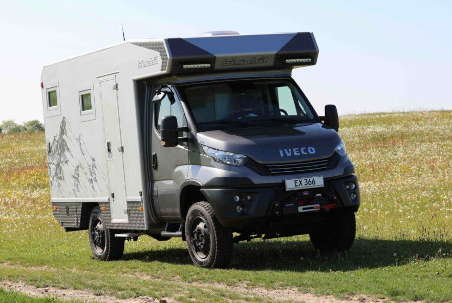 Der Top-Seller jetzt auch auf Iveco-Daily: Bimobil EX366 mit echten Offroad-Qualitäten