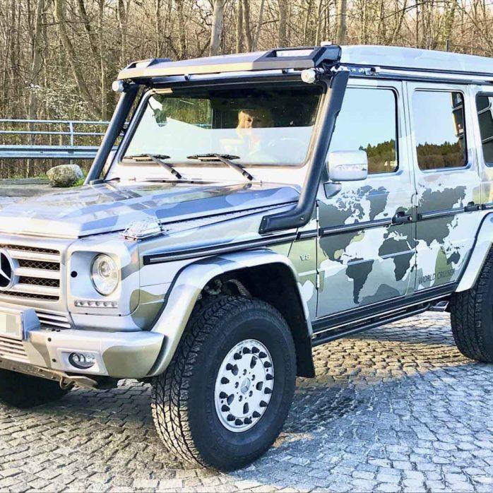 Expeditionsfahrzeug Mercedes-Benz G500/G55 gebraucht zu verkaufen