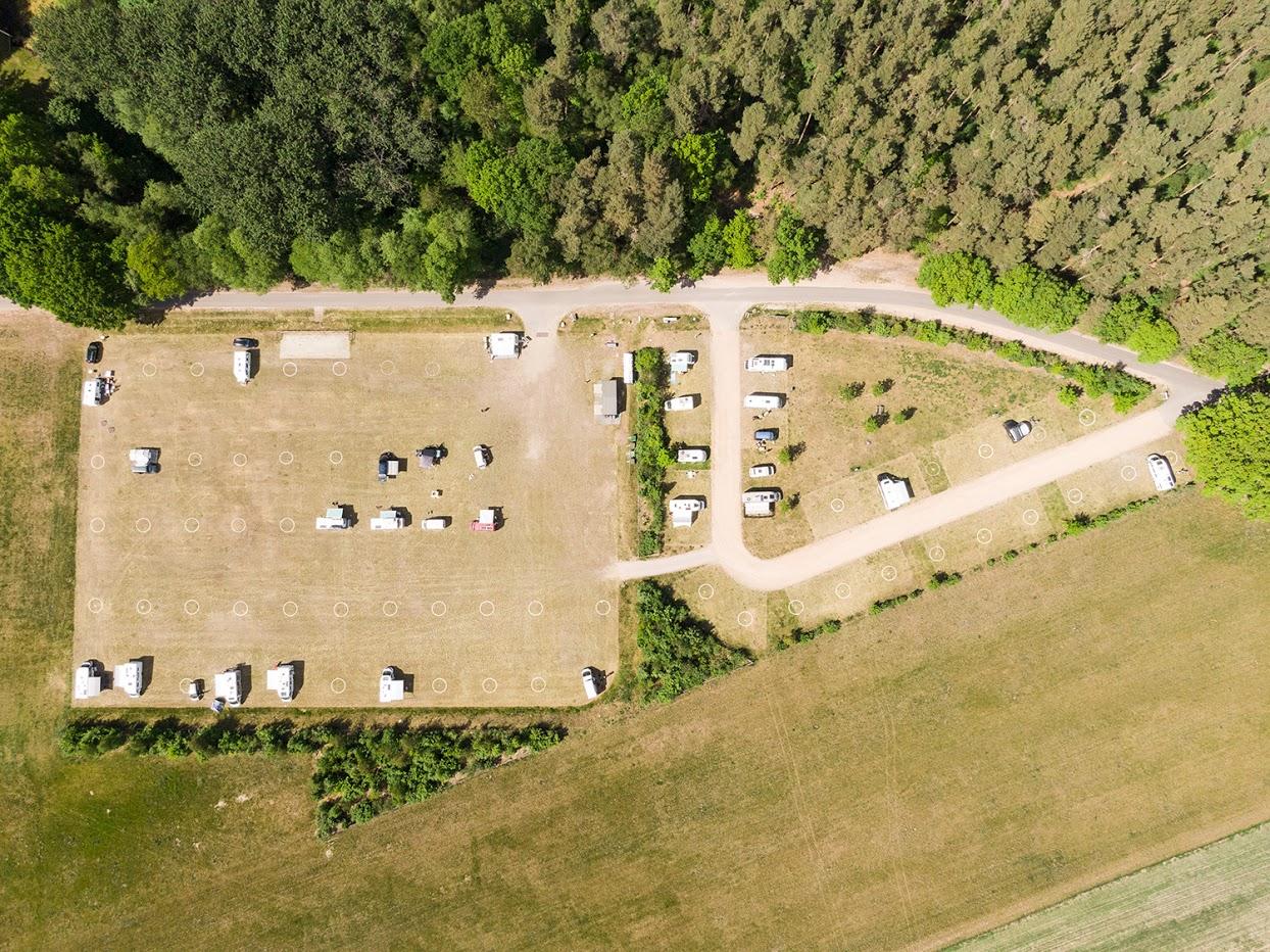 Campingplatz statt Festival