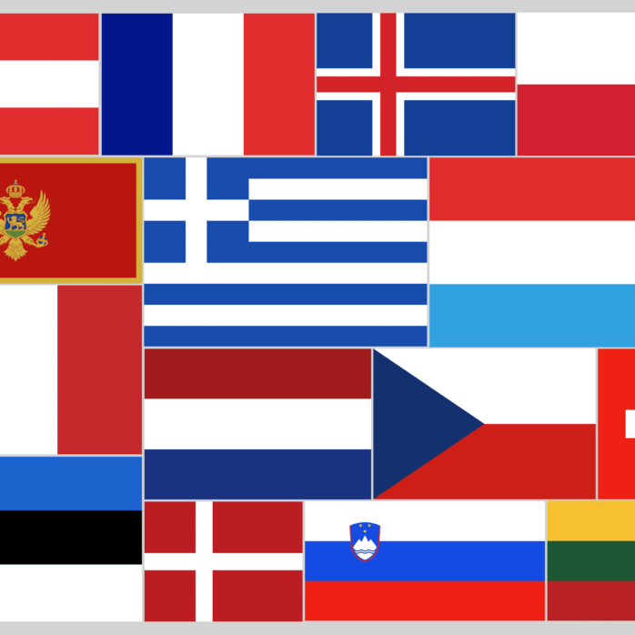 Corona Grenzöffnung Flaggen