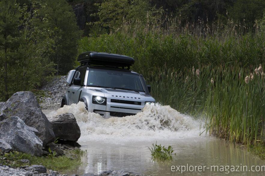Testfahrt Land Rover Defender 110 (2020)