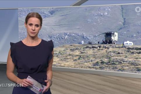 Mit dem Reisemobil gestrandet im Iran. Eine Reportage des ARD-Weltspiegel