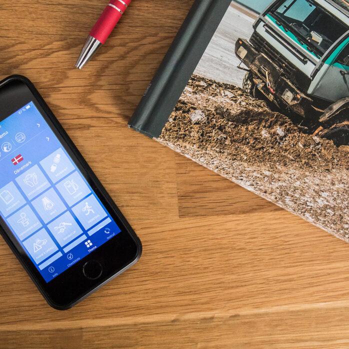 """Mit der App """"Mit dem Auto ins Ausland"""" Reiseinfos immer griffbereit"""