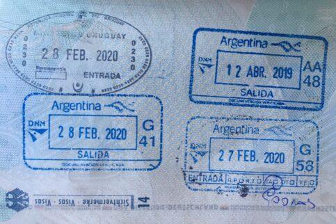 Reisepass Argentinien