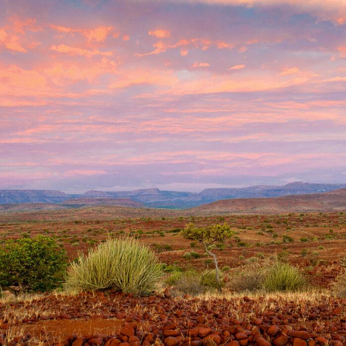 Mit dem Pick-Up durch Namibia