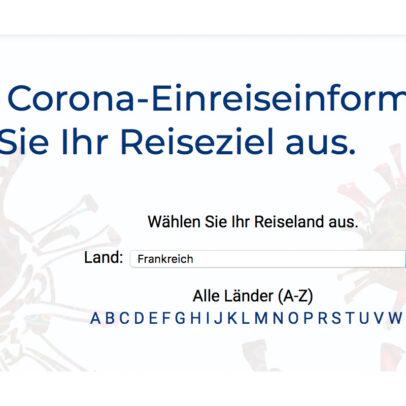 CRM Corona-Einreisebestimmungen