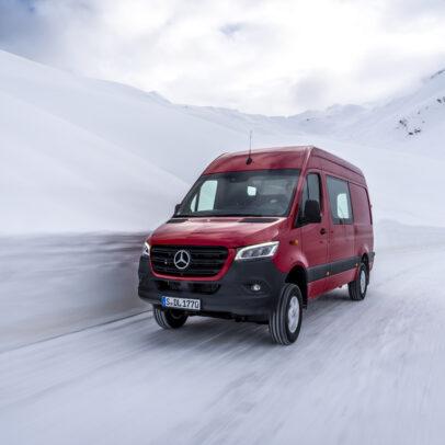 Mercedes Sprinter 4x4- Auslaufmodell 2020?