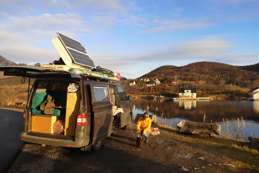 VW-Bus 4MOtion Skandinavien, Sarah Kringe