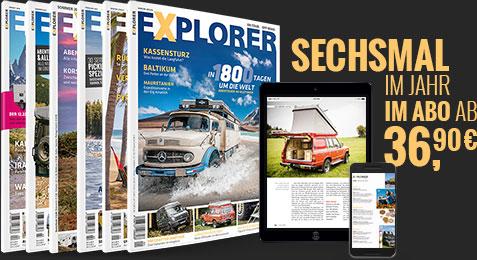 Magazin Abo explorer ausgabe frühling 2016